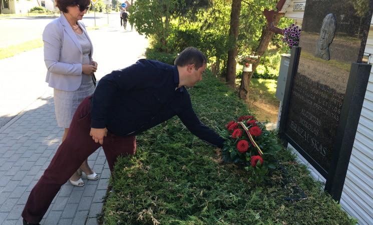 A. M. Brazausko mirties metinės