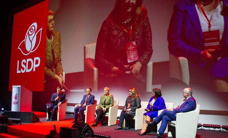 Į Europos Parlamentą socialdemokratus ves V. Blinkevičiūtė